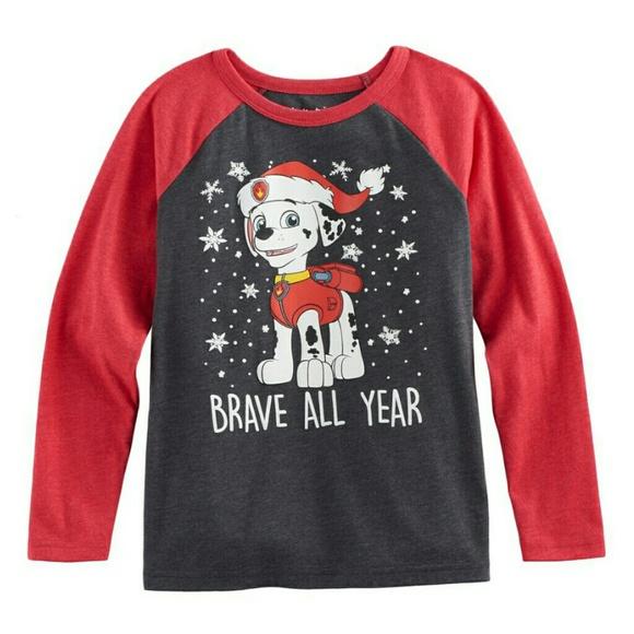 4c7c23d6f9f Paw Patrol Christmas shirt. NWT. jumping beans